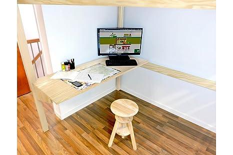 ABC MEUBLES - Tablet scrivania per letto soppalco - BUR ...