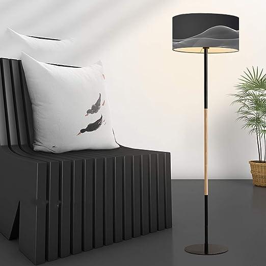 WYHYQY Polo LED Lámpara de pie - Fits Sala de Estar Moderna de luz ...