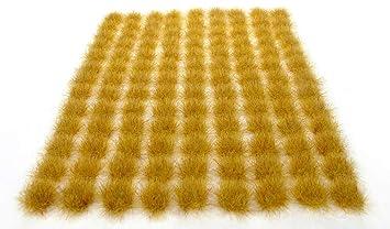 x117 Scrub grass tufts 6mm Self adhesive static model wargames scenery