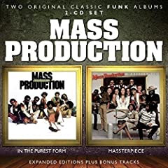 """Soulmusic Records is proud to present the worldwide CD debut of two classic albums by popular U. S. funk band Mass Production: - 1979's """"In The Purest Form"""" and 1980's """"Massterpiece"""", both written and produced by the self-contained band. The ..."""