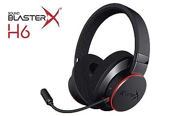 Sound BlasterX H6 - Cascos con micrófono para juegos USB con sonido virtual 7.1: Amazon.es: Electrónica