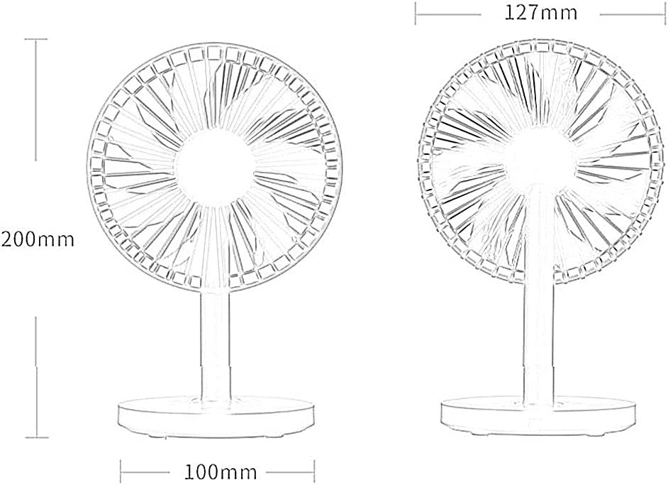 Desk Fan BNSDMM Mini USB Clip and Desktop Personal Fan Mini Fan Silent Operation for Home Office Optional Color Mobile Power and PC Computer 4 Inch 3-Speed Portable Cooling Fan USB