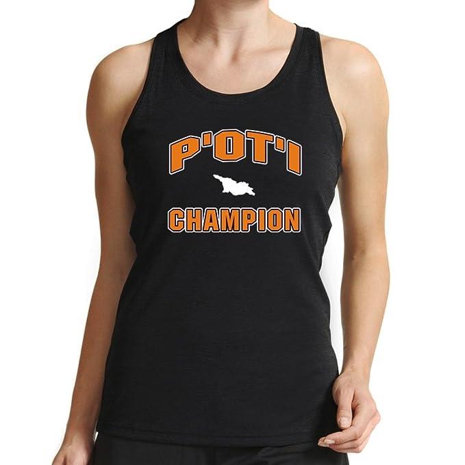 Eddany POtI champion Camiseta de tirantes mujer