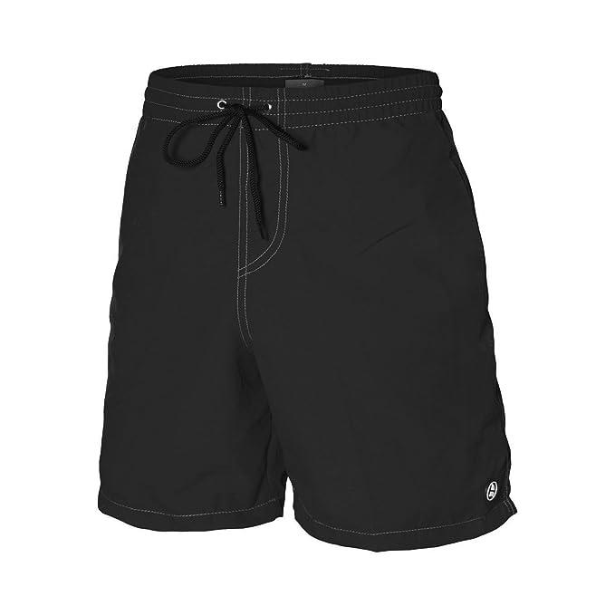6a905a44e03580 Navigare costume uomo boxer nylon calibrato taglie forti oversize art.  898341 (nero, 3XL