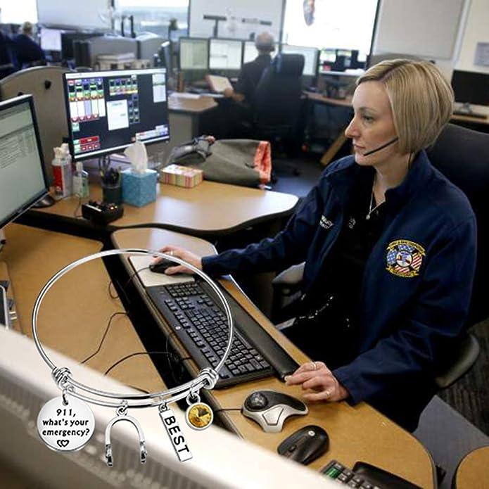 FAADBUK Dispatcher Gift 911 Emergency Operator Responder Gift 911 Whats Your Emergency Dispatcher Graduation Gift