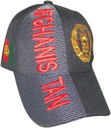 Countries of Asia and Africa Baseball Caps Hats with Five 3D Embroideries