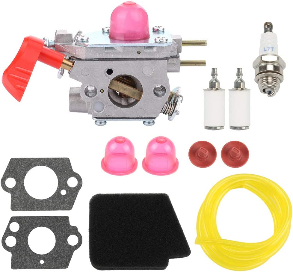 Mengxiang C1U-W43 Carburetor for Poulan Pro BVM200FE VS-2 Husqvarna GBV345 Craftsman 358.794771 358.794763 358.794770 358.794780 358.794765 358.794774 25cc Gas Blower Zama C1UW43 Poulan 545081857""