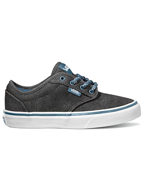 Vans Atwood J - Zapatillas de Lona para niño Negro Nero/Blu, Black/Teal, 32: Amazon.es: Zapatos y complementos