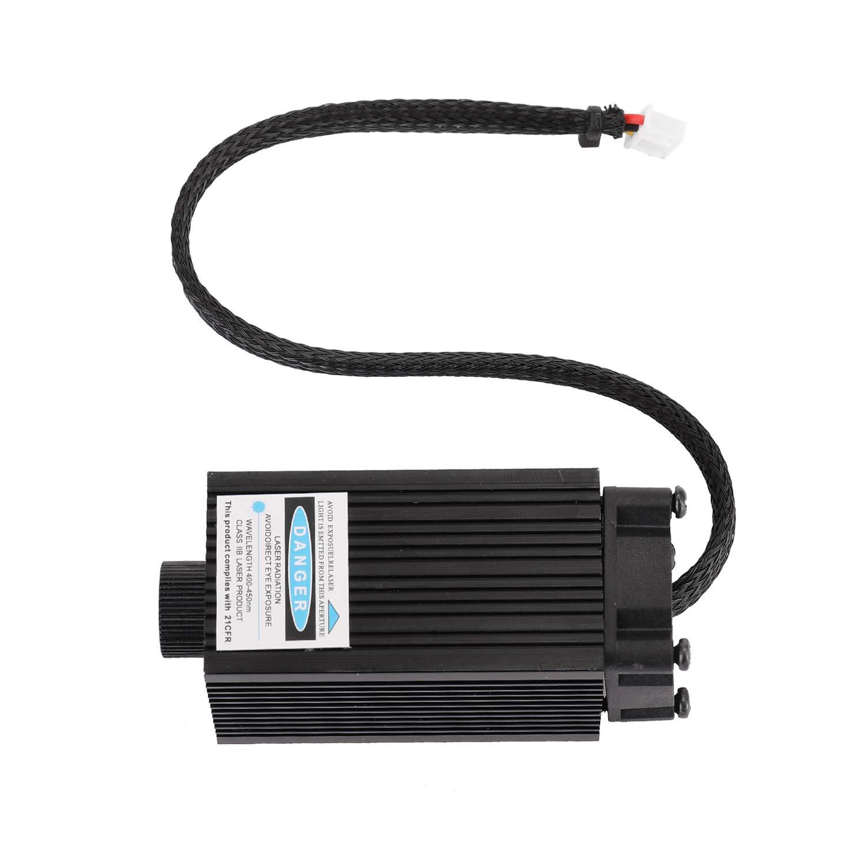 KKmoon 5.5W Laserkopf Modul,Desktop Einarm DIY Graviermaschine Graveur Zubeh/ör