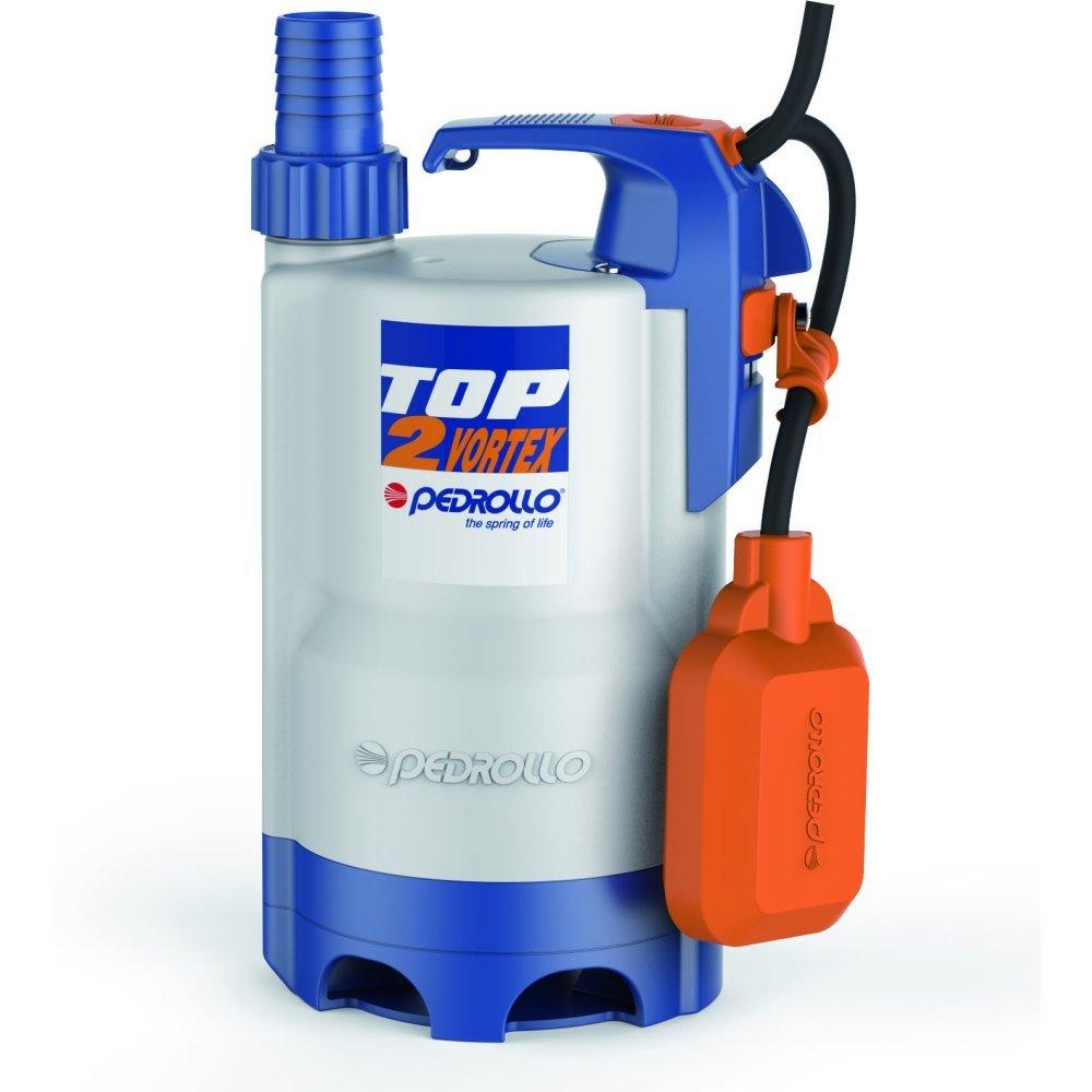 VORTEX Submersible Electric Pump Dirty Water TOP2VORTEX 5M 0,5Hp 240V Pedrollo