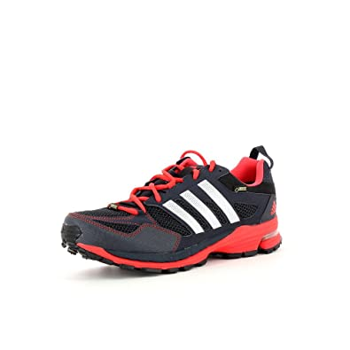 5d26259e27a5f adidas Mens Mens Supernova Riot 5M GTX Running Shoes in Black - UK 6 ...