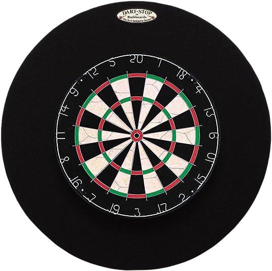 Dart-Stop 29 inch Professional Dart Board Backboard, Round Wall Protector Dartboard Surround