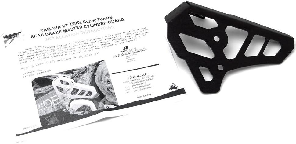 AltRider SU10-2-1100 Rear Brake Master Cylinder Guard for Yamaha Super Tenere XT1200Z Black