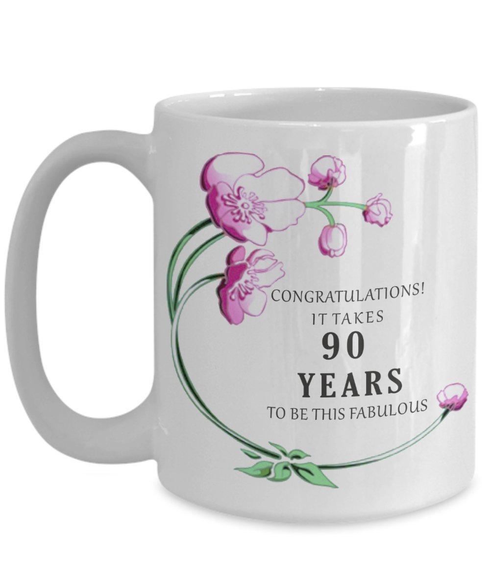 Amazon 90th Birthday Gift Idea Mug
