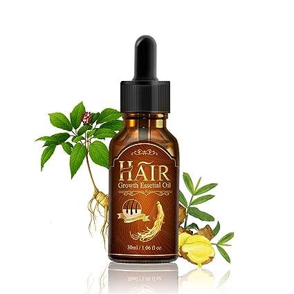 ALIVER 30ml Crema para el cabello Solución Recrecimiento Esencia Prevención del Caída del Cabello Mujeres Hombres