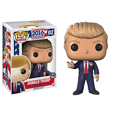 Funko POP! The Vote Campaign 2016 Road To The White House #02 Vinyl Figure - Donald Trump: Toys & Games
