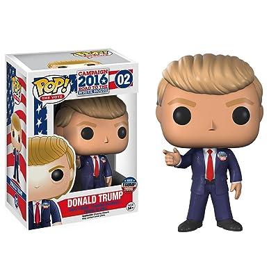 Funko POP! The Vote Campaign 2016 Road To The White House #02 Vinyl Figure - Donald Trump: Toys & Games