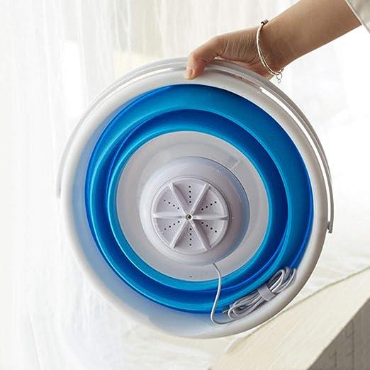 Kalaokei Viaje Mini turbina Plegable máquina ¨ ¤ Lavar casa Ropa ...