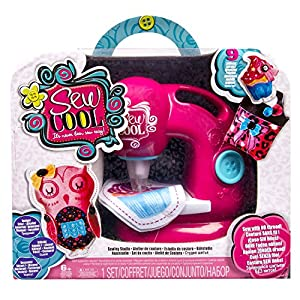 Spin Master 6020398 - Sew Cool Nähmaschine - Nähen ohne Faden!