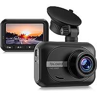 TOGUARD Mini Dash Cam 1080P Full HD Cámara de coche, 2.4 pulgadas 170° gran angular cámara para coche grabadora de…