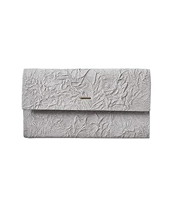 "72ba293d02a8 (イロセ)irose シワ加工ロングウォレット""paper long wallet"" one グレー acc"
