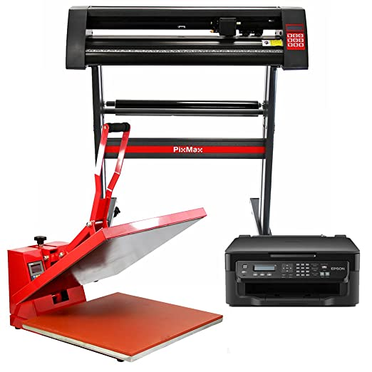 PixMax 50cm Clam Heat Press, Vinyl Cutter, Impresora: Amazon.es: Hogar
