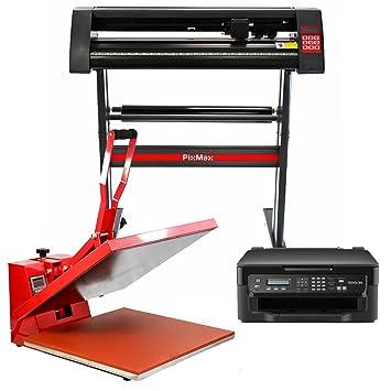 PixMax - Prensa Térmica 50cm para Sublimación sobre ...