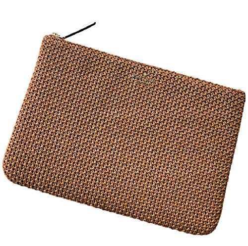 Jackson Straw Large Zip Pouch clutch bag