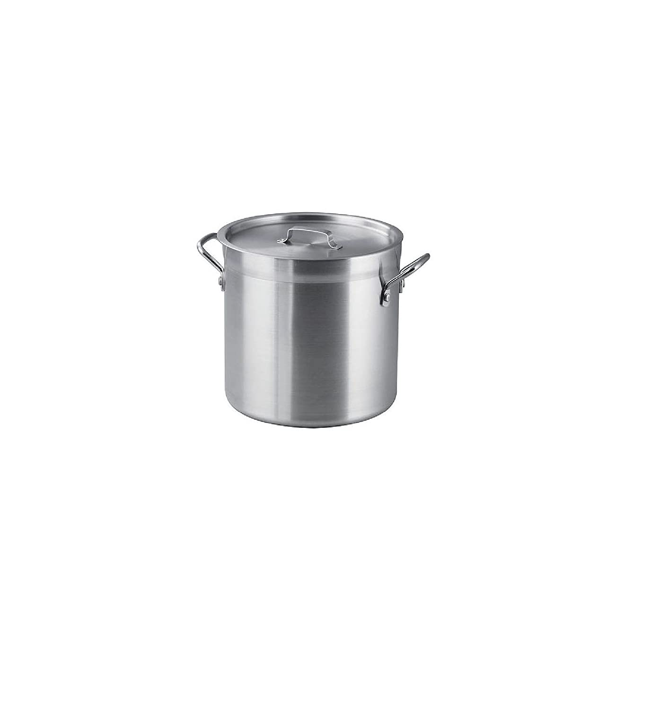 16 Qt. Aluminum Stock Pot with Lid Bakers & Chef's 80145/500