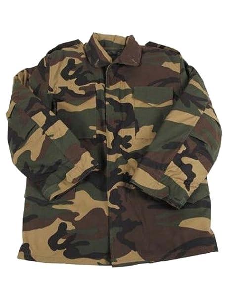 Militär b US Army Chaqueta de Campo M65 Woodland, Hombre, Verde, 4XL