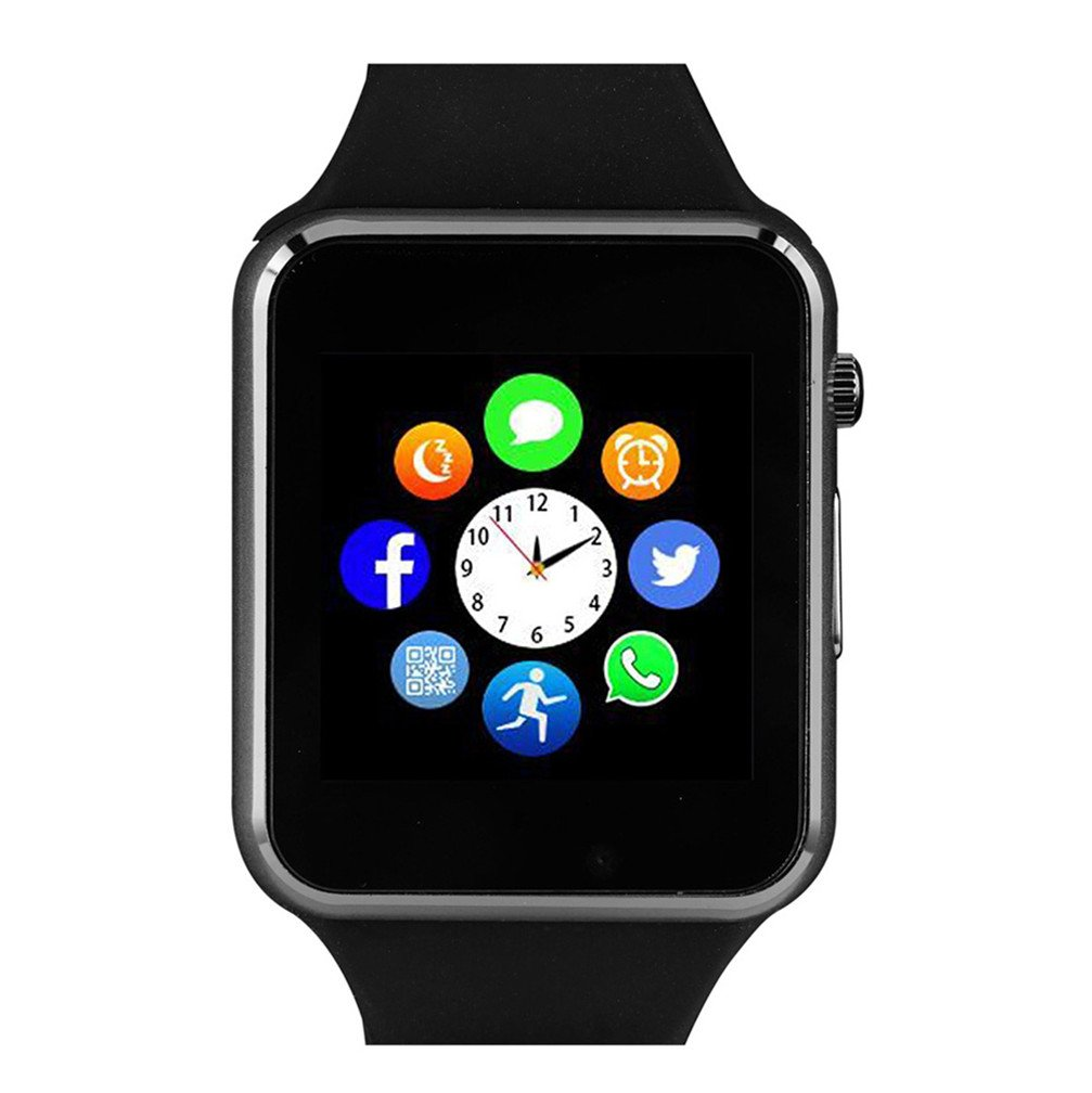 Bluetooth Smartwatch Unlocked Watch Phone can Call and Text with Touchscreen Camera Notification Sync for Android and iOS
