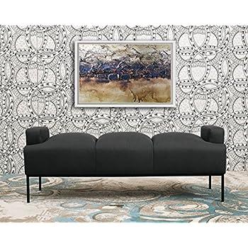 Amazon.com: Modway sillón otomano, Madera, Gris ...