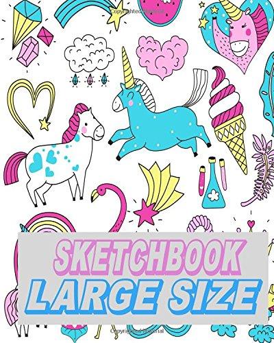 Sketchbook Large Size: Blank Drawing Sketchbook Journal (Volume 7) PDF