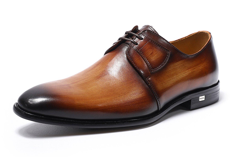 Felix Chu Genuine Men's Luxury Dress Shoes Genuine Leather Lace-up Business Formal Shoes Wedding Shoes