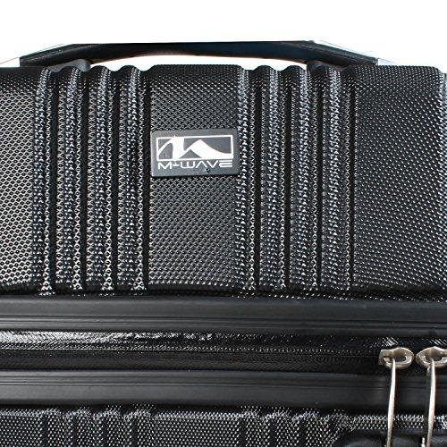 eebc30565590a M-Wave AMSTERDAM Fahrrad Gepäckträger Tasche Side Case Hartschale SC  35x16x46 cm ...