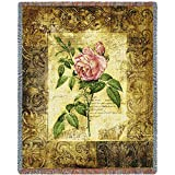 Pure Country Inc. Blossom Elegance I Tapestry Blanket Throw