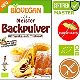 Organic Gluten Free Baking Powder 'Master' with Tapioca Pack of 3 x 17G | Superior Motor Strength | Universal - Phosphate Free - Corn Starch Free