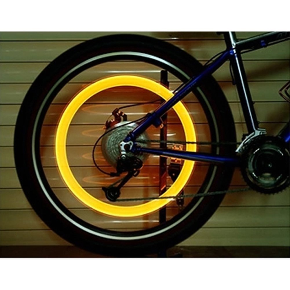 LED flash luz Válvula de Neumáticos para bicicleta luz lámpara para válvula de iluminación para coche bicicleta motocicleta: Amazon.es: Deportes y aire ...