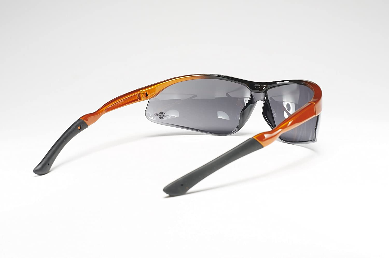 maximisant la protection oculaire Am/é Rev/êtement Antibrouillard et anti rayures  Lentilles avec cadre incurv/é pour ajustement serr/é ToolFreak Lunettes de S/écurit/é Lunettes de protection UV pour hommes et femmes
