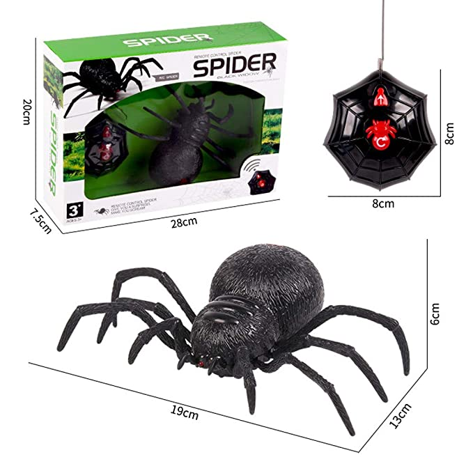 Top 7 Best Remote Control Spider Toys Reviews in 2020 3