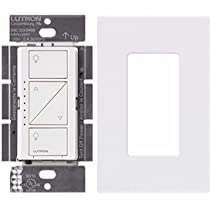 ... Lutron PD-10NXD-WH Caseta Pro In Wall Dimmer 250W LED With Screw Less ...