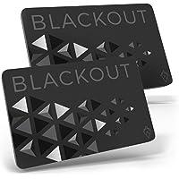 Blackout de AKIELO – Tarjeta de Bloqueo RFID Ultrafina (2 Piezas) – Solución Simple para la Protección de Tarjetas de…