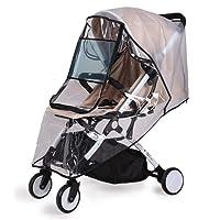 Bemece Universal Rain Cover for Pushchair Stroller Buggy Pram, Baby Travel Weather Shield