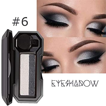 Sombra de ojos doble de Gradient con pincel, combinación de ...