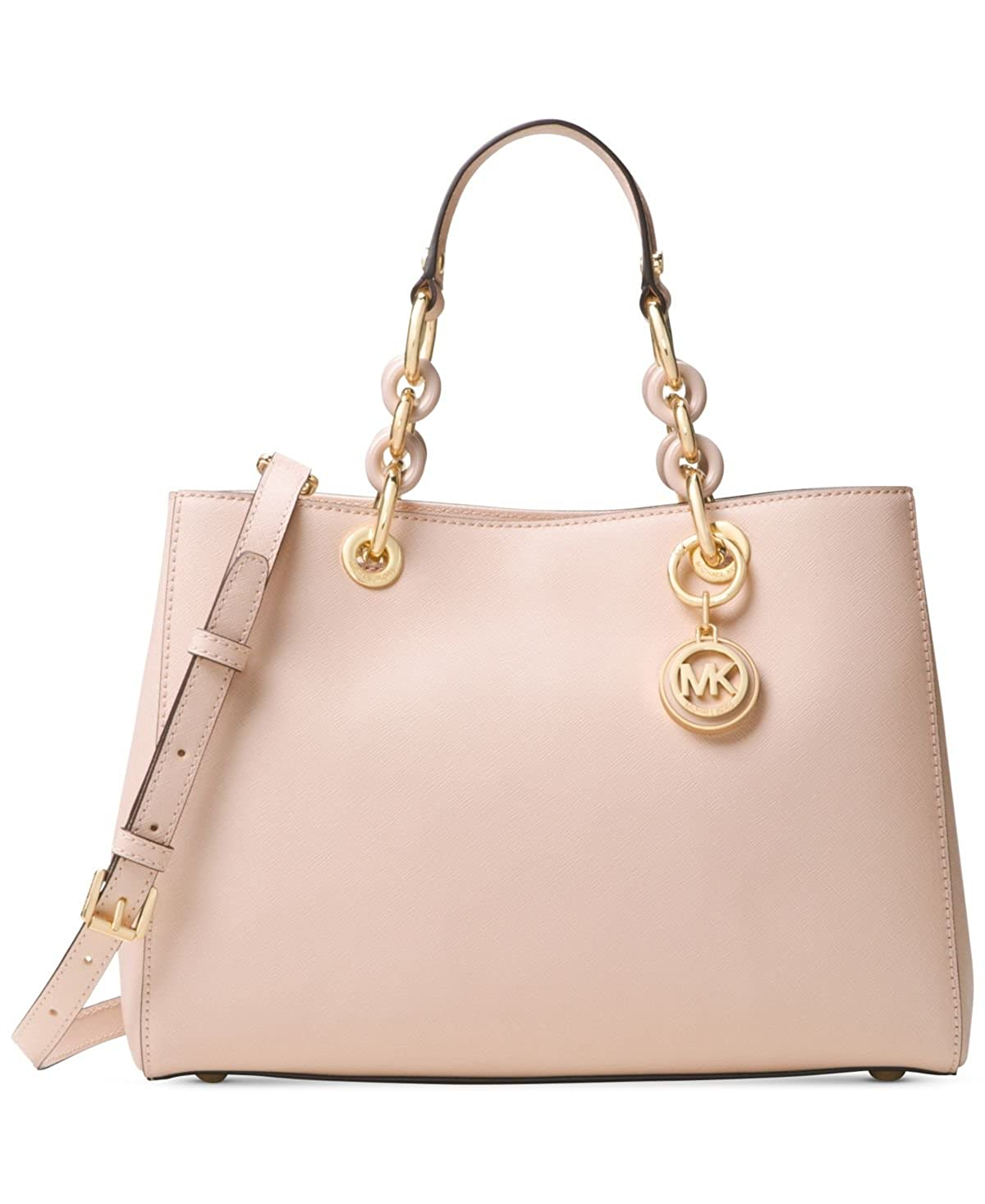 52668c90489b Amazon.com: MICHAEL Michael Kors Cynthia Small East West Satchel: Shoes