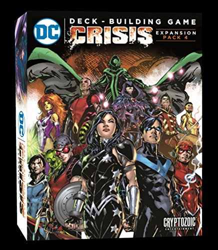 DC Comics DBG: Crisis Expansion Pack 4