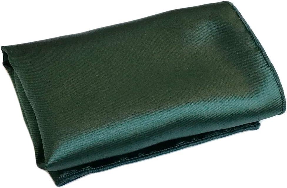 CANGRON Men Brown Pocket Square Solid Handkerchief PSC0ZO