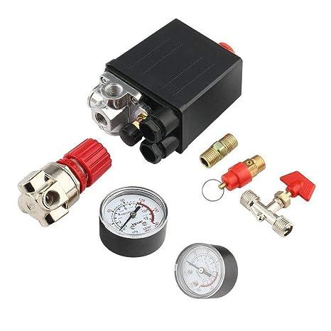 Amazon.com: HOUTBY - Interruptor de control de presión del ...