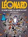 Léonard, tome 35 : Le génie donne sa langue au chat par de Groot