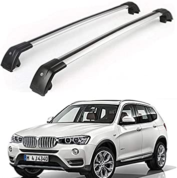 Fits for BMW X3 F25 2011-2017 Baggage Luggage Racks Roof Racks Rail Cross Bars